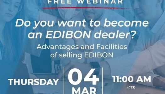Webinar: Do you want to become an Edibon dealer?