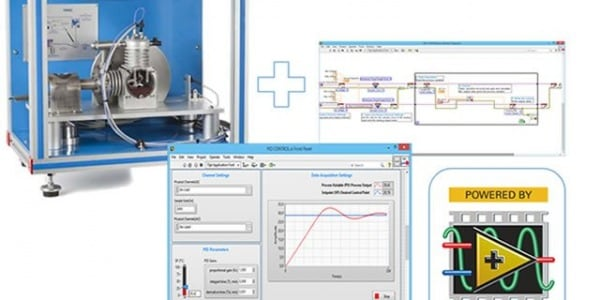 "EDIBON Case study:  ""Software development kit to start with LabVIEW using technical teaching equipment"""